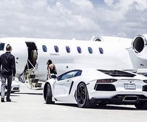 jet, car, and Lamborghini image