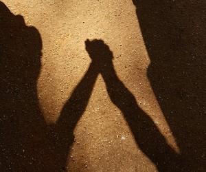 Malaga, shadow, and love image