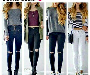 beautiful, girl, and clothes image