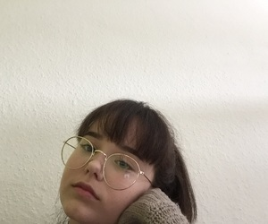 aesthetic, bangs, and pale image