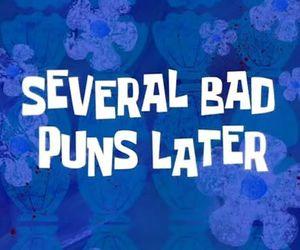 puns, spongebob, and funny image