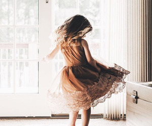 dress, child, and style image