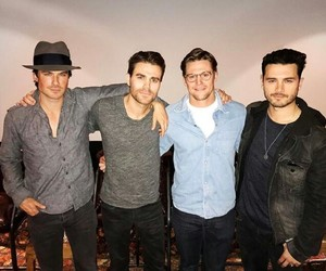 the vampire diaries, ian somerhalder, and Zach Roerig image