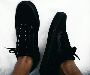 black, sneaker, and cloths image