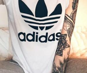 tattoo, adidas, and sport image