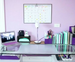 purple, room, and cute image