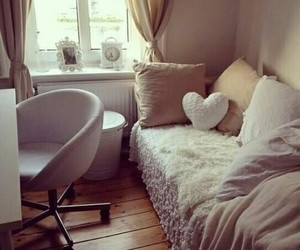 adorable, bedroom, and heart image