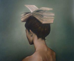 art, books, and kitaplar image