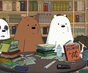bears, cartoon, and cartoon network image