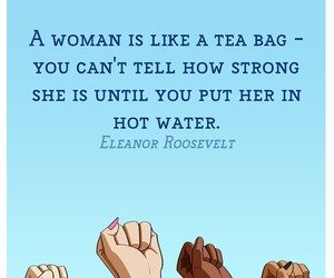 woman, feminist, and quotes image