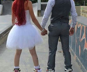 beautiful, married, and rollerblades image