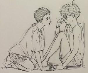 couples, exo, and yaoi image
