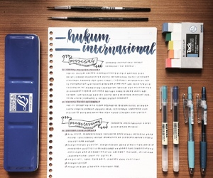 bj, notebook, and notes image