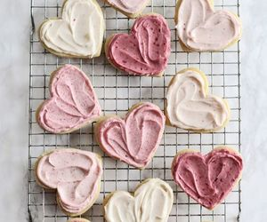 pink, aesthetic, and Cookies image