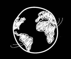 world, overlay, and white image
