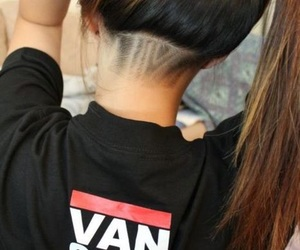 hairstyle, undercut, and hair_tattoo image