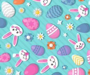 background, pattern, and bunny image