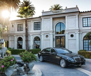 luxury, car, and home image