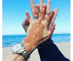henna, married, and ring image