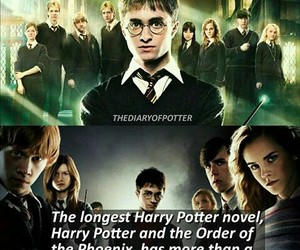 harry potter facts and order of the pheonix image