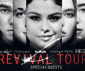 selena gomez, revival tour, and dnce image