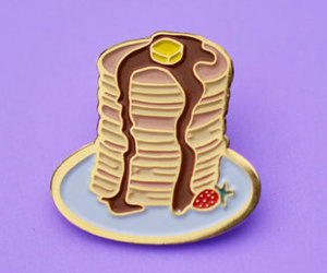 pancakes, pin's, and cute image