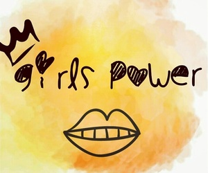 girl, girls, and power image