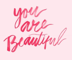 quotes, beautiful, and pink image
