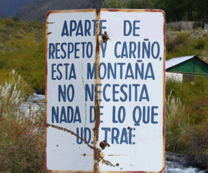 nature, frases, and montaña image