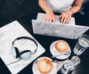 coffee, fashion, and marble image
