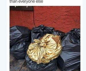 funny, trash, and lol image