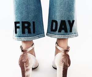 fashion, friday, and jeans image