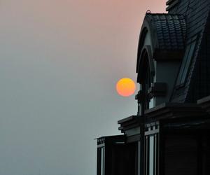 fotografia, luna, and paisaje image