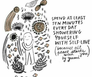 art, quotes, and selflove image