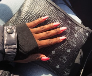 nails, stiletto, and mcm image