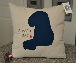 etsy, accent pillow, and beach cottage decor image