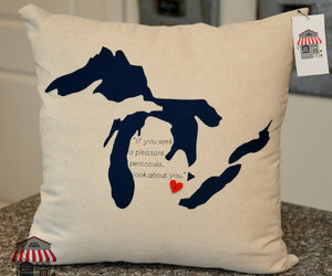 etsy, couch pillow, and wedding gift image