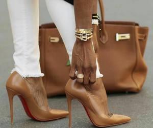shoes, bag, and hermes image