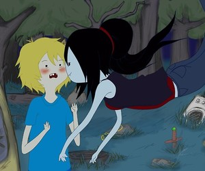 marceline, finn, and adventure time image