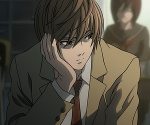 death note, light yagami, and anime image