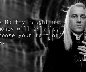 harry potter and lucius malfoy image