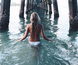 beach, sun, and swimwear image