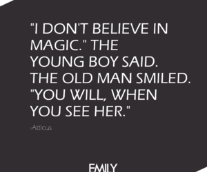 atticus, love, and magic image