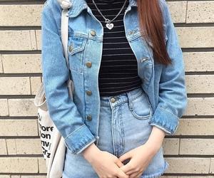 fashion, asian, and girl image