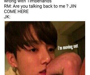 funny, bts, and namjin image
