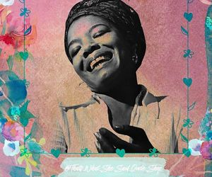 maya angelou, poet, and quotes image