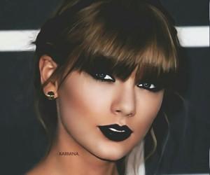 beautiful, blue eyes, and Swift image