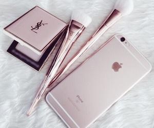 iphone, makeup, and pink image