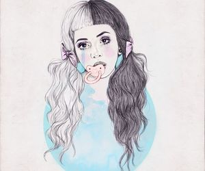 melanie martinez, drawing, and cry baby image