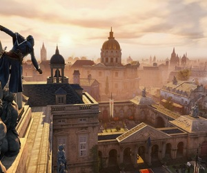 city, france, and game image